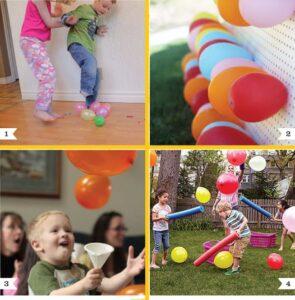Веселые детские игры-конкурсы. часть 1