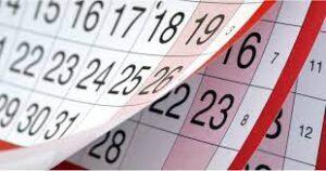 Календарь профессиональных праздников в Сентябре